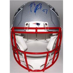 Rob Gronkowski Signed Patriots Full-Size Authentic On-Field Helmet (Steiner COA)