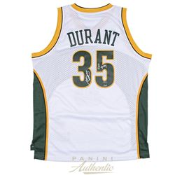 """Kevin Durant Signed Supersonics Jersey Inscribed """"08 ROY"""" (Panini COA)"""
