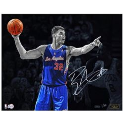 """Blake Griffin Signed Clippers """"Directing Traffic"""" 16x20 Photo (Panini COA)"""