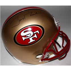 Jerry Rice Signed 49ers Full Size Helmet (Rice Hologram)