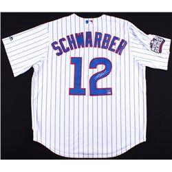 Kyle Schwarber Signed Cubs Jersey (Schwartz COA  MLB Hologram)