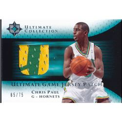 2005-06 Ultimate Collection Patches #UJPCP Chris Paul #65/75