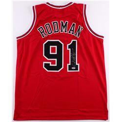 Dennis Rodman Signed Bulls Jersey (PSA COA)