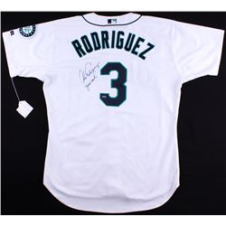 """Alex Rodriguez Signed Mariners Game-Used Jersey Inscribed """"Game Used"""" (A10 Mears LOA)"""