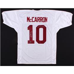 """AJ McCarron Signed Alabama Crimson Tide Jersey Inscribed """"We Own Alabama"""" (Radtke Hologram)"""