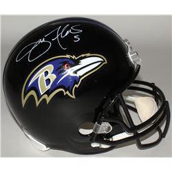 Joe Flacco Signed Ravens Full-Size Helmet (Radtke COA)