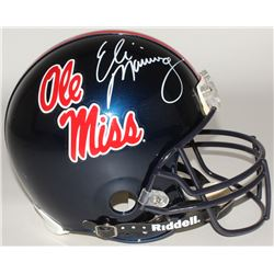 Eli Manning Signed Ole Miss Rebels Full-Size Authentic On-Field Helmet (Steiner COA)
