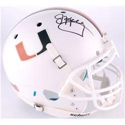 Jim Kelly Signed University of Miami Full-Size Authentic On-Field Helmet (Radtke COA)