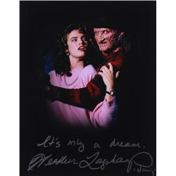 """Heather Langenkamp Signed """"Nightmare on Elm Street"""" 11x14 Photo Inscribed """"It's Only a Dream""""  """"Nanc"""