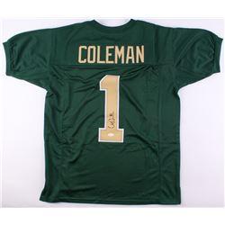 Corey Coleman Signed Baylor Bears Jersey (JSA COA)