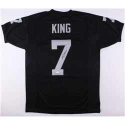Marquette King Signed Raiders Jersey (JSA COA)