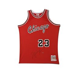 Michael Jordan Signed Bulls Rookie Jersey (UDA COA)