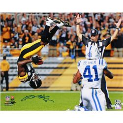 Antonio Brown Signed Steelers 16x20 Photo (Beckett COA)