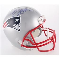 Ben Affleck Signed Patriots Full Size Helmet (Beckett COA)