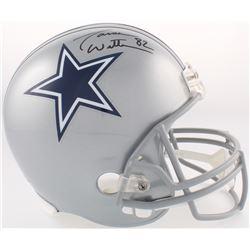Jason Witten Signed Cowboys Full-Size Helmet (JSA COA  Witten Hologram)