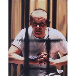 "Anthony Hopkins Signed ""The Silence of the Lambs"" 11x14 Photo (PSA COA)"