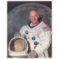 "Buzz Aldrin Signed NASA 8x10 Photo Inscribed ""Best Wishes"" (JSA LOA)"