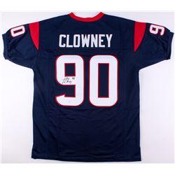 Jadeveon Clowney Signed Texans Jersey (JSA COA)