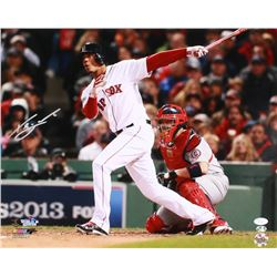 Xander Bogaerts Signed Red Sox 16x20 Photo (JSA COA)