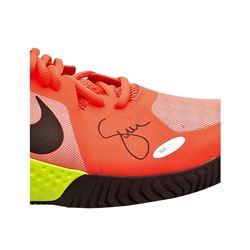 Serena Williams Signed Pink Nike Flare Shoes (UDA Hologram)