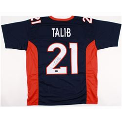 Aqib Talib Signed Broncos Jersey (Radtke COA)
