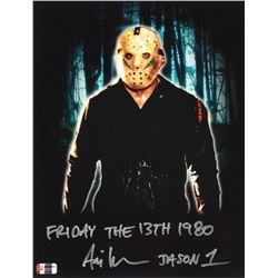 "Ari Lehman Signed Jason Voorhees 11x14 Photo Inscribed ""Friday the 13th 1980""  ""Jason 1""  (PA COA)"