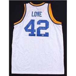 Kevin Love Signed UCLA Bruins Jersey (Beckett COA)