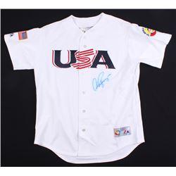 Alex Rodriguez Signed USA 2006 World Baseball Classic Jersey (Beckett COA)