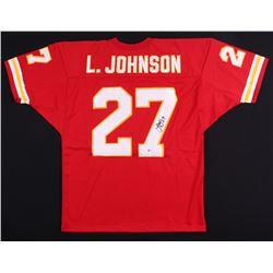 Larry Johnson Signed Chiefs Jersey (Beckett COA)