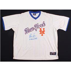 "Nolan Ryan Signed Mets Jersey ""69 Miracle Mets"" (Beckett COA  Ryan Hologram)"