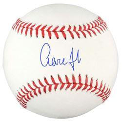 Aaron Judge Signed OML Baseball (Fanatics Hologram)