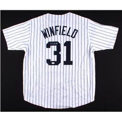 Dave Winfield Signed Yankees Jersey (JSA COA)