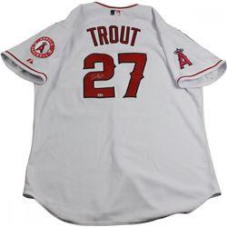 Mike Trout Signed Angels Jersey (MLB Hologram  Steiner COA)