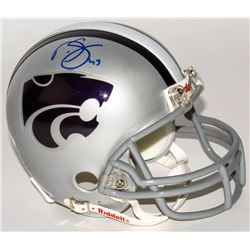 Darren Sproles Signed Kansas State Wildcats Mini Helmet (JSA COA)