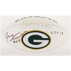 "Jerry Kramer Signed Packers Logo Football Inscribed ""H.O.F. 2018"" (Radtke COA)"