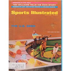 "Arnold Palmer Signed 1968 Sports Illustrated Magazine Inscribed ""Happy 17th Birthday""  ""Best Wishes"""