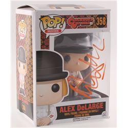 "Malcolm McDowell Signed ""A Clockwork Orange"" #358 Alex DeLarge Funko Pop Vinyl Figure (Radtke COA)"