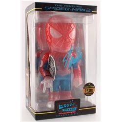 "Stan Lee Signed ""Spider-Man 2"" Marvel Hikari Vinyl Action Figure (Radtke COA  Lee Hologram)"