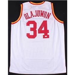Hakeem Olajuwon Signed Rockets Jersey (JSA COA)