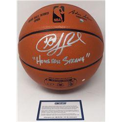"Chris Paul Signed Spalding Basketball Inscribed ""Houston Strong"" (Steiner COA)"