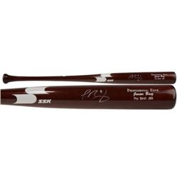 Javier Baez Signed SSK Player Model JB9 Baseball Bat (Fanatics Hologram)