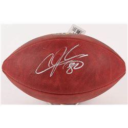Andre Johnson Signed NFL Football (PSA COA)