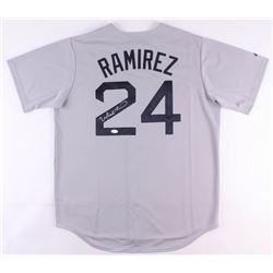 Manny Ramirez Signed Red Sox Jersey (JSA COA)
