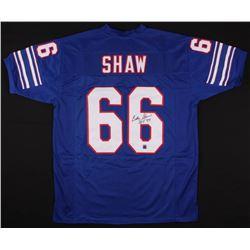 "Billy Shaw Signed Bills Jersey Inscribed ""HOF '99"" (Jersey Source COA)"
