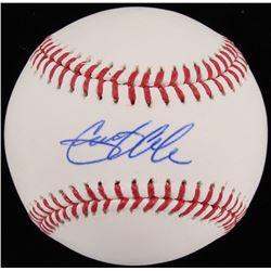 Gerrit Cole Signed OML Baseball (JSA COA  LOJO Hologram)