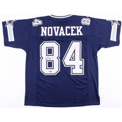 Jay Novacek Signed Cowboys Jersey (Radtke COA)