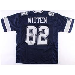 Jason Witten Signed Cowboys Jersey (Radtke COA  Witten Hologram)