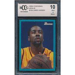 2009-10 Bowman 48 Blue #104 James Harden (BCCG 10)