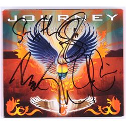"""Journey """"Revelation"""" CD  DVD Live Album Cover Signed By (5) With Neal Schon, Steve Smith, Jonathan C"""