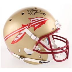 Jameis Winston Signed Florida State Seminoles Full-Size Helmet (Beckett COA)